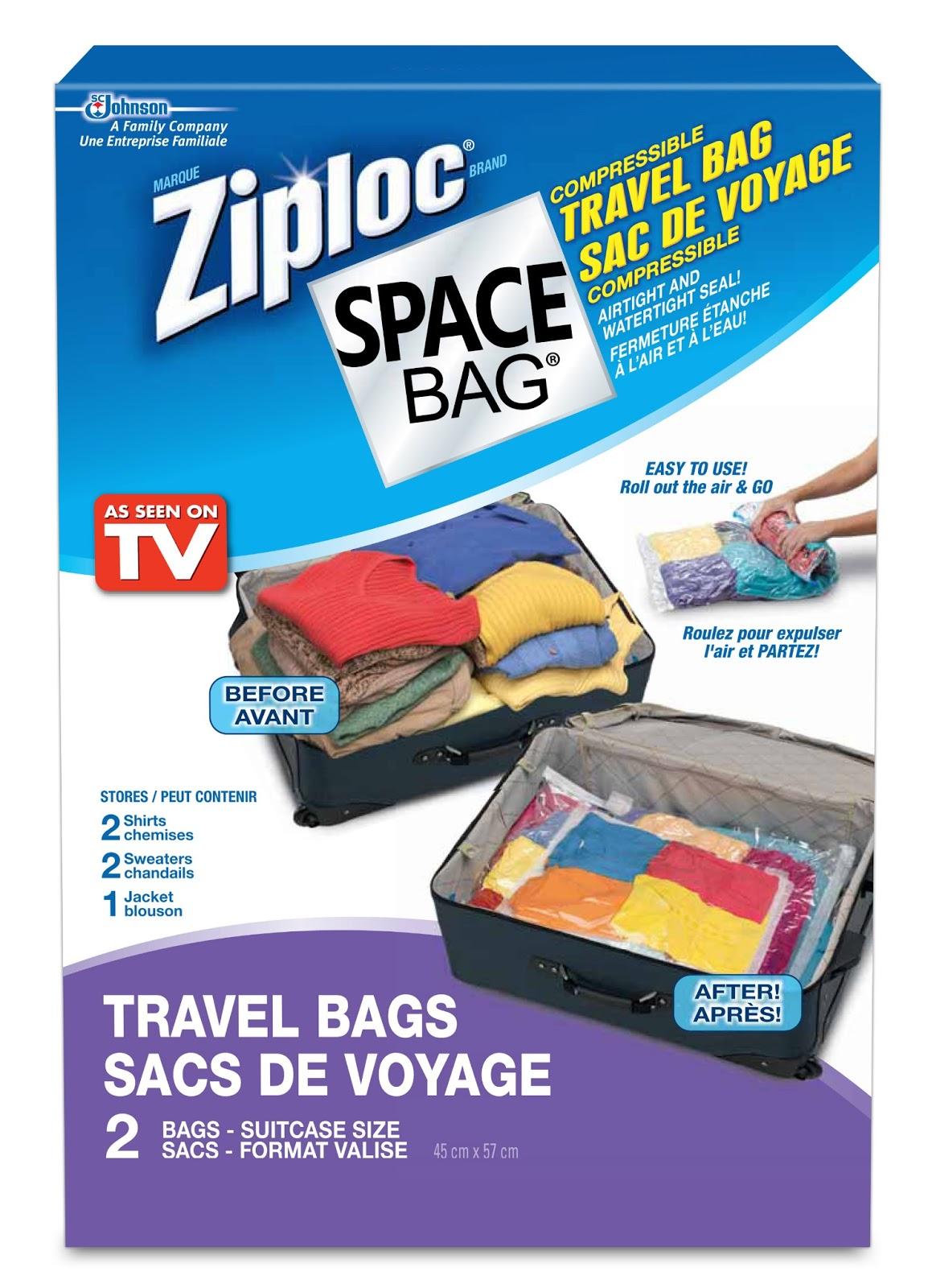 Ziploc Travel Space Bags Reviews