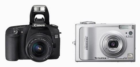 Kamera SLR vs Kamera Pocket Saku Tips Memilih Camera
