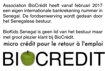 BioCrédit is autonoom