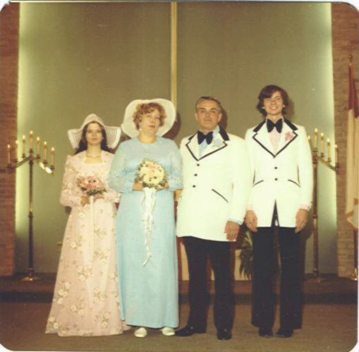 Robert and Donna Stokes Wedding Picture