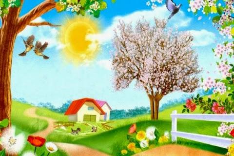 стихи про весну для детей короткие