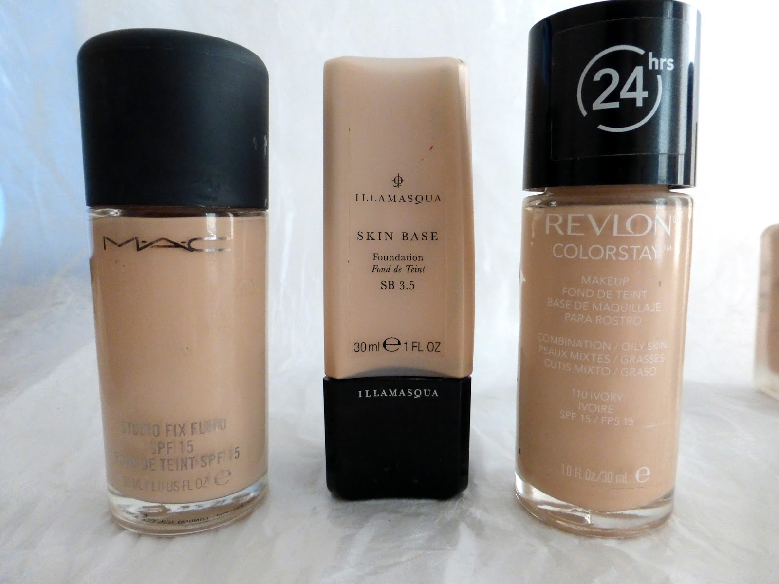 Foundations for Pale, Oily Skin.