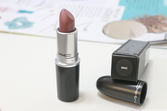 MAC Lipstick Review