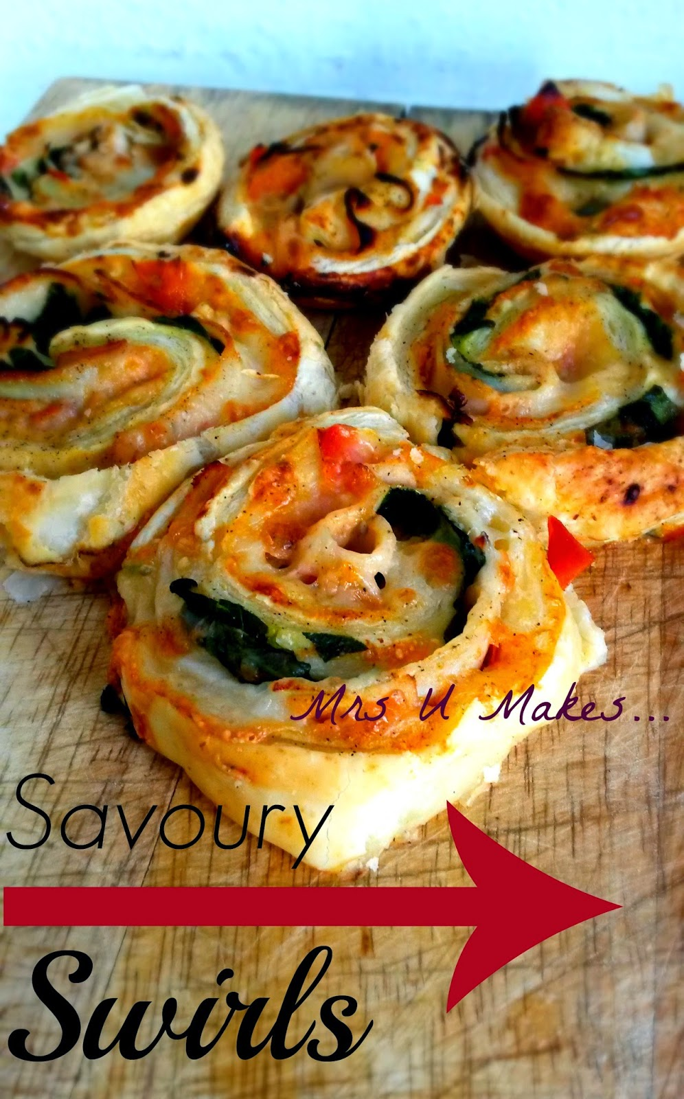 Mrs U Makes...Savoury Swirls