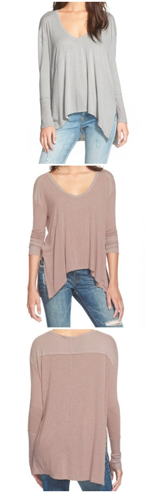 Fall/Winter fashion - Elodie Ribbed Long Sleeve Tee