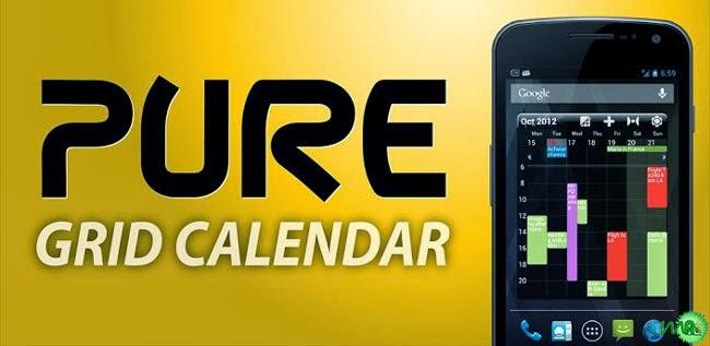 Pure Grid calendar widget 2.6.0 APK Free Download