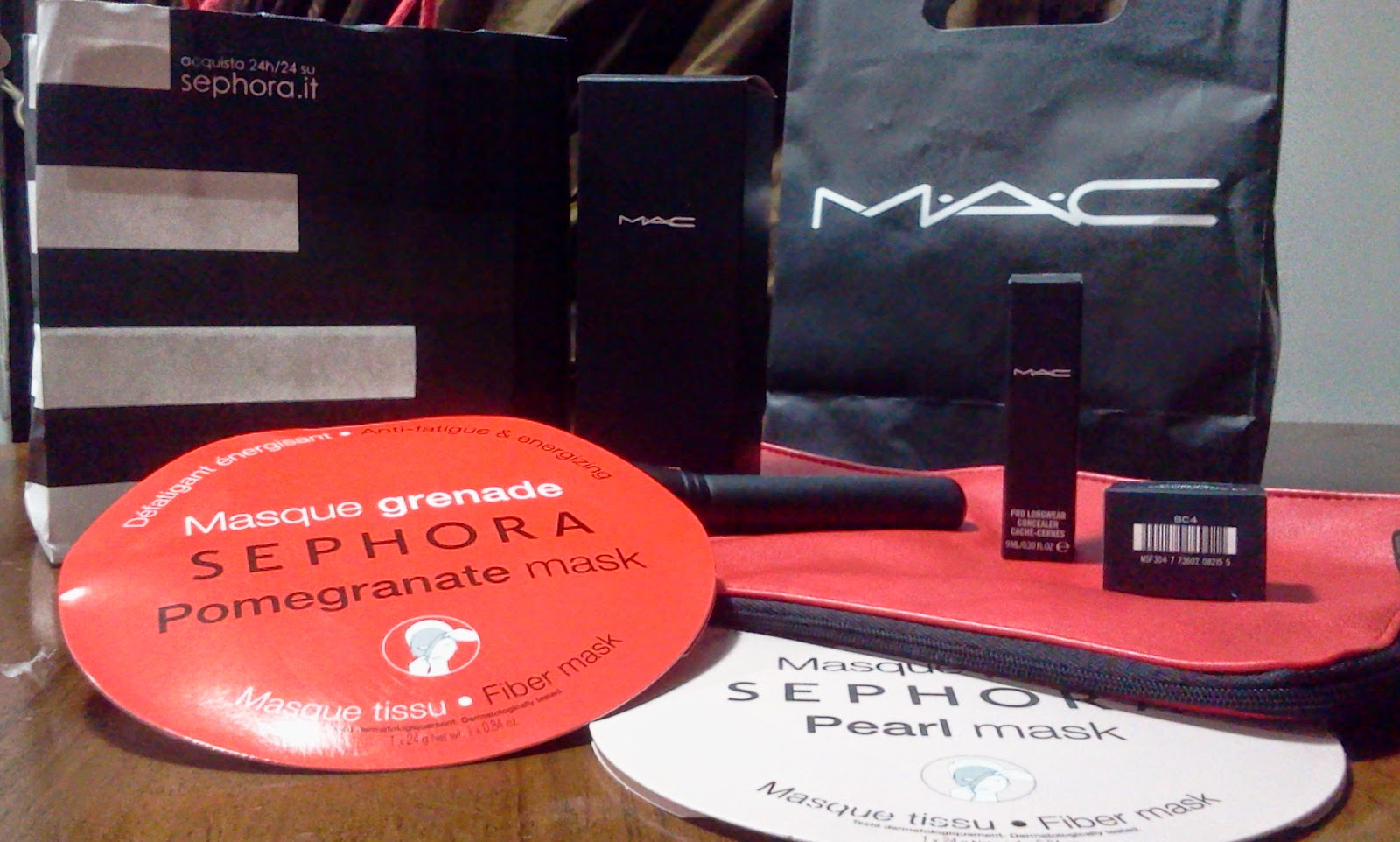 haul mac e sephora