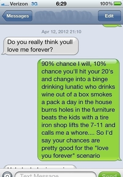 The no contact rule to get him back, funny love text ...