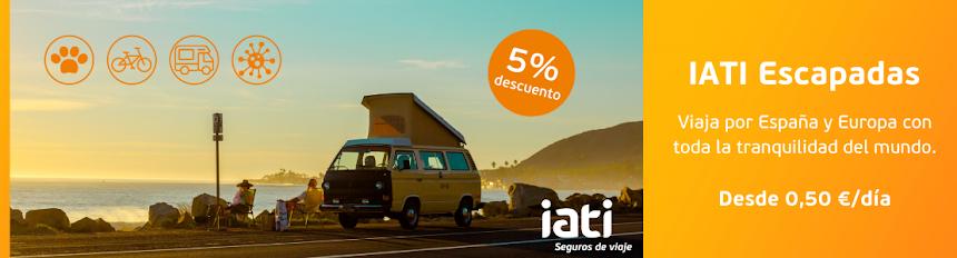 ¿Ya tienes tu seguro de viaje? Ahora también IATI Escapadas.