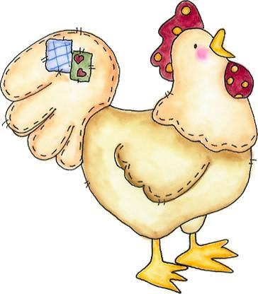 Clip Art, Chicken Clipart, Gallina Country