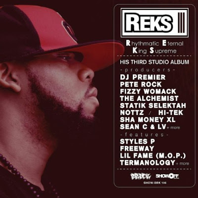 Reks – Rhythmatic Eternal King Supreme (CD) (2011) (FLAC + 320 kbps)
