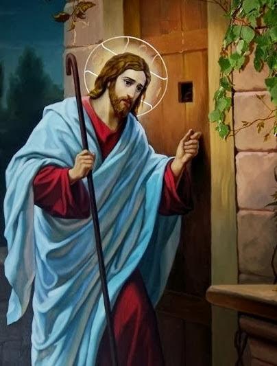 Ilha cat lica de santa isabel eis que estou porta e bato for Jesus a porta
