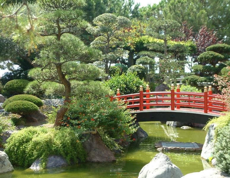 Si pr s de l 39 horizon jardin japonais de monaco for Jardin japonais monaco