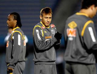 neymar entreno en el centenario