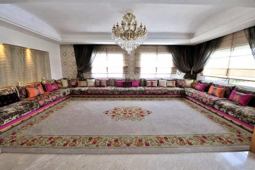 D coration de salon marocain blog de salon marocain et d coration de luxe - Salon simple et beau ...