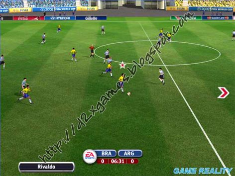 Free Download Games - FIFA World Cup 2002