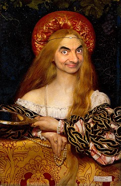 Face Mr. Bean