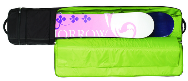 soft snowboard travel bag