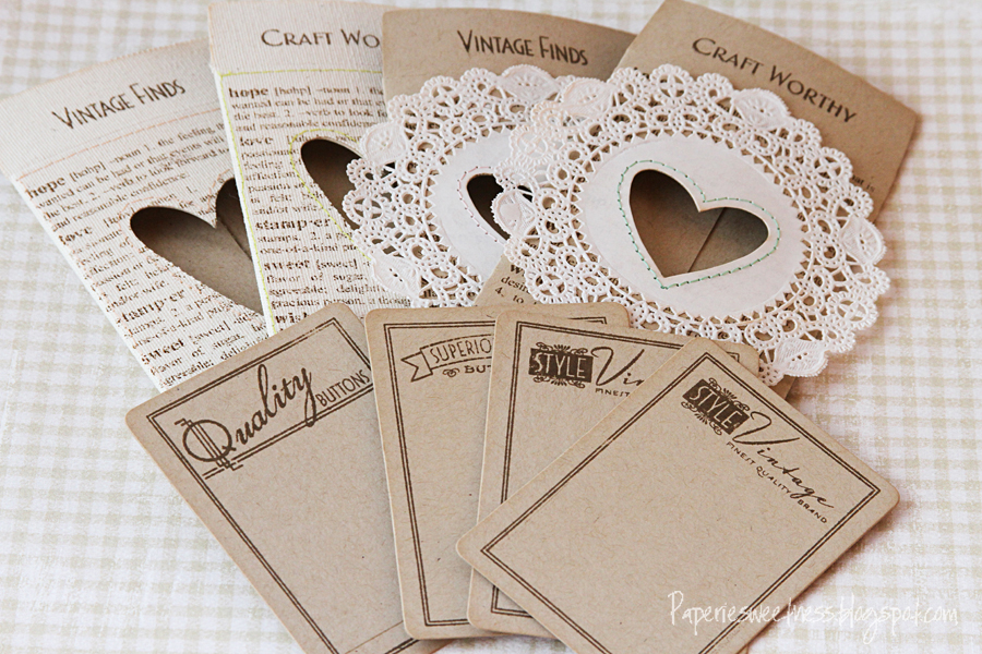 Sizzix die cutting inspiration and tips vintage pockets for Cards and pockets com