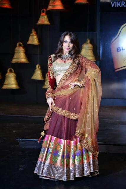 Malaika Arora Khan walks for BPFT 2013 in Hyderabad