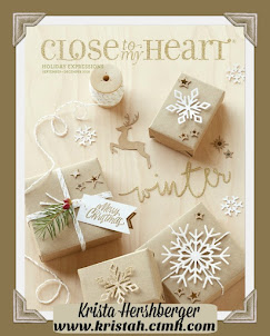 Get your OWN FREE copy of the NEW Holiday book with 1st order placed online - www.kristah.ctmh.com