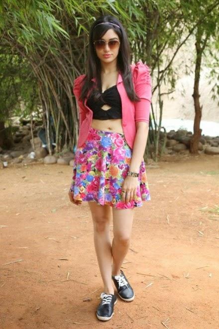 Adah Sharma Latest Photos In Skirts