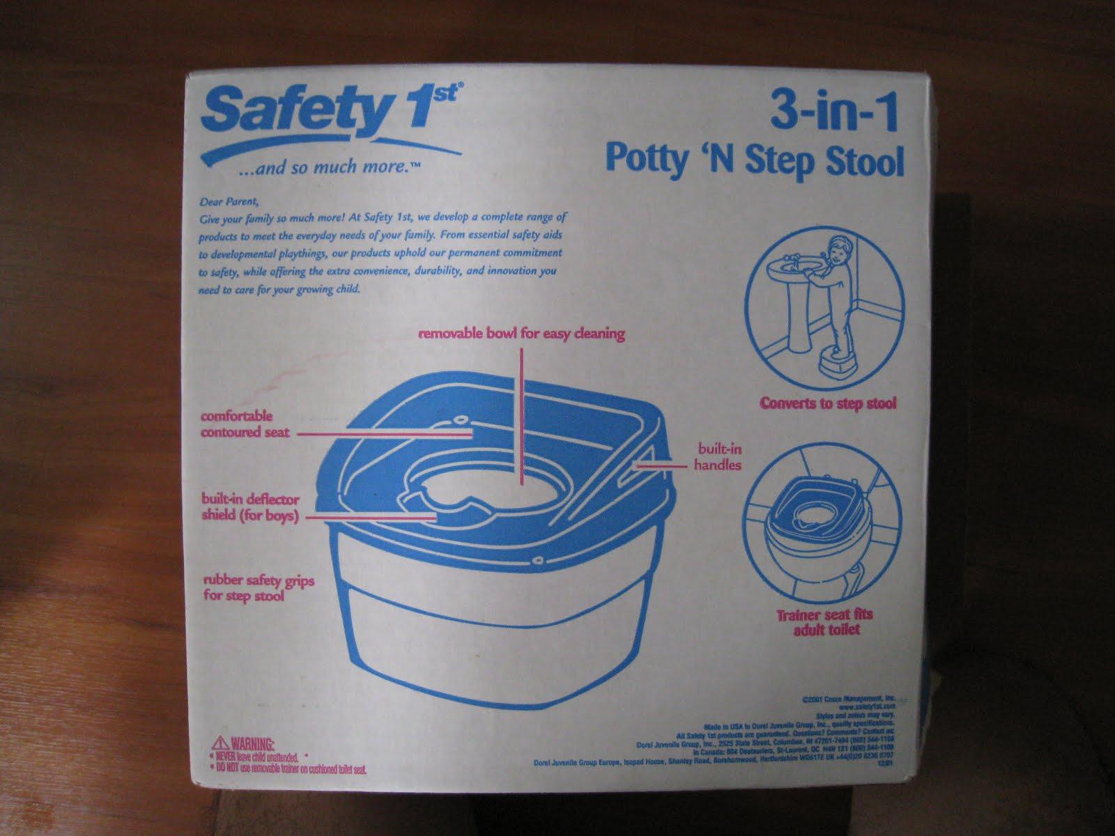 & My Zakka Shop: Used Safety 1st 3-in-1 Potty u0027N Step Stool islam-shia.org