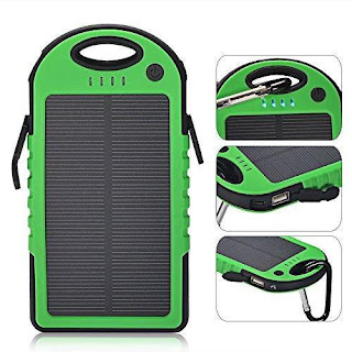 Solar Waterproof PowerBank 5.000 mAh