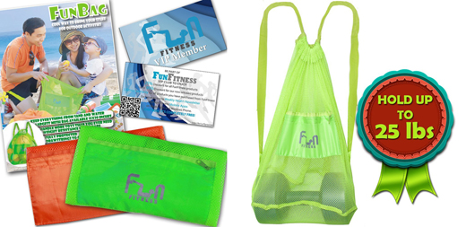 Mesh Beach Bag Giveaway - Perfect for All Sports  #funbag
