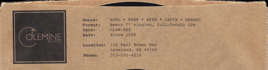 Colemine Records - SOUL Music Since 2007