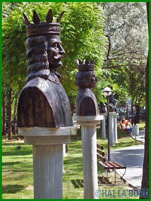 busturi gradina valorilor romanesti