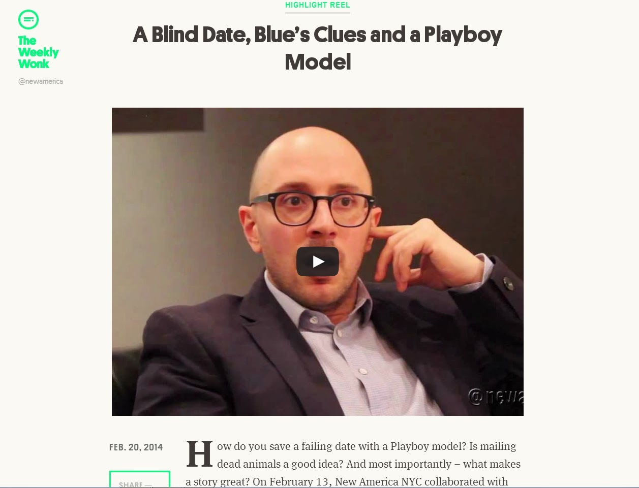 http://weeklywonk.newamerica.net/articles/a-blind-date-blues-clues-and-a-playboy-model/
