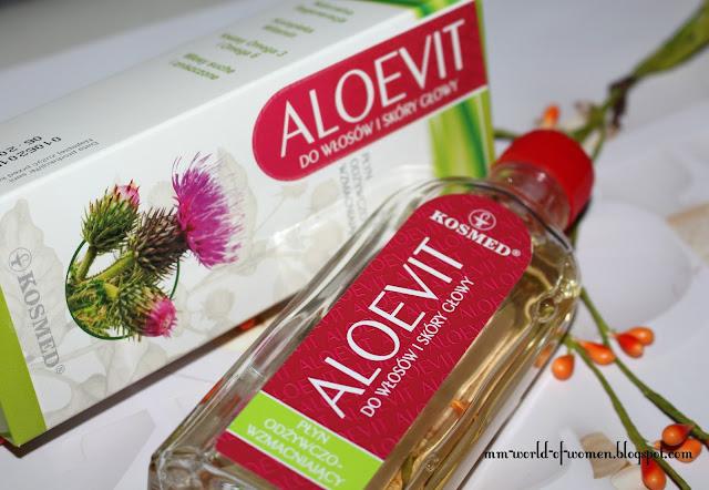 ALOEVIT- płyn do włosów odżywczo-wzmacniający