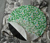 Соединение слоев сумки-скатерти