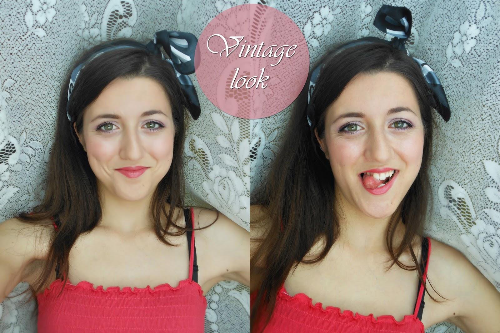 Грим на деня: С привкус на миналото хилядолетие / Look of the day: Modern Vintage Make-up and Hair