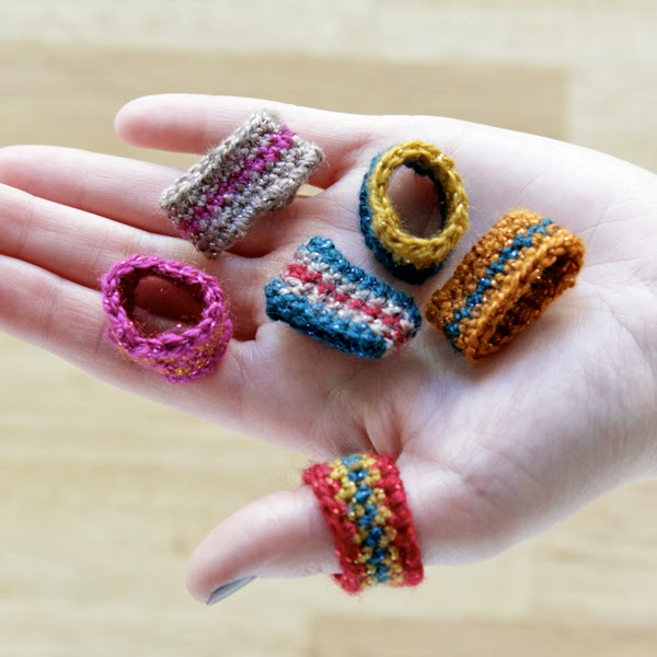 free crochet ring pattern