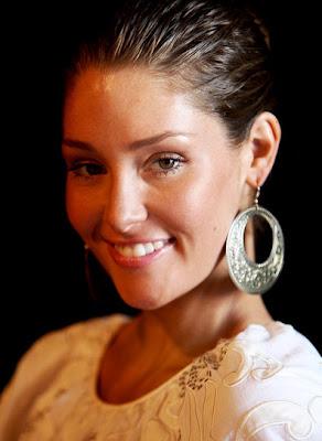 Erin McNaught Sterling Hoop Earrings