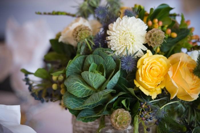veggie centerpieces flowers