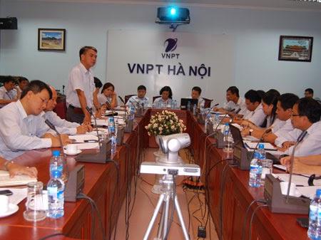 VNPT Hà Nội tăng trưởng mạnh doanh thu Internet cáp quang