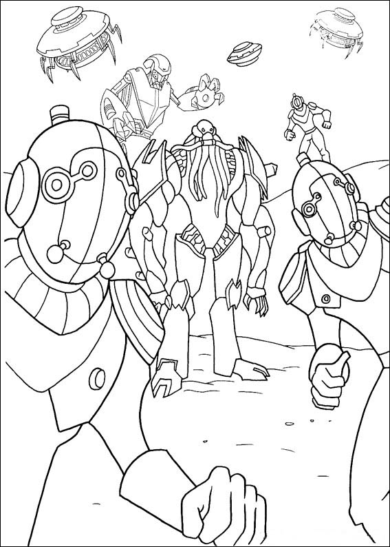 Free printable coloring pages cool coloring pages ben 10 coloring pages - Coloriage ben 10 ...