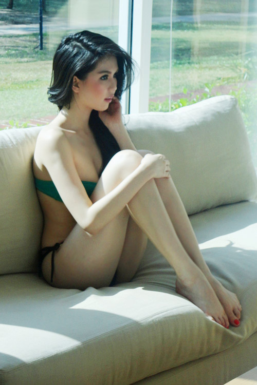 "Hot Girls Vietnamese Sexy: Ngoc Trinh ""hot"" in Thailand"