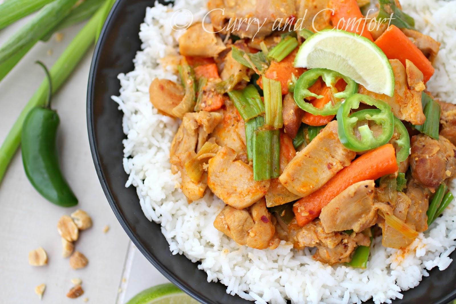 Kitchen SimmerThai Red Curry Chicken