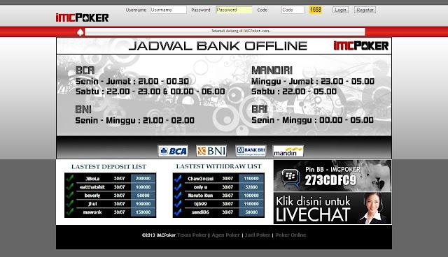 Poker Online Uang Asli ImcPoker
