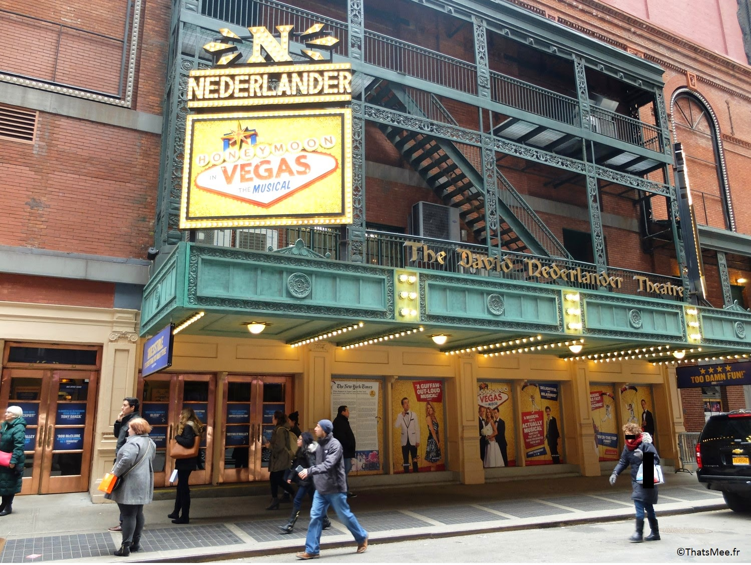 The David Neverland Theatre Broadway New-York City comédie musicale show Tony Danza Honeymoon in Vegas