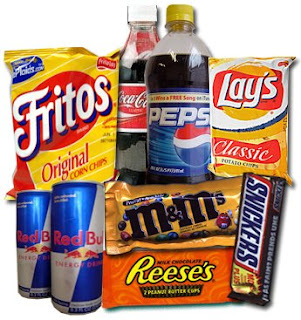 snack tidak sehat