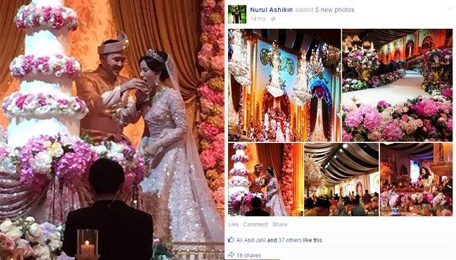 IngkarJemputan Gambar majlis perkahwinan anak PM disebar