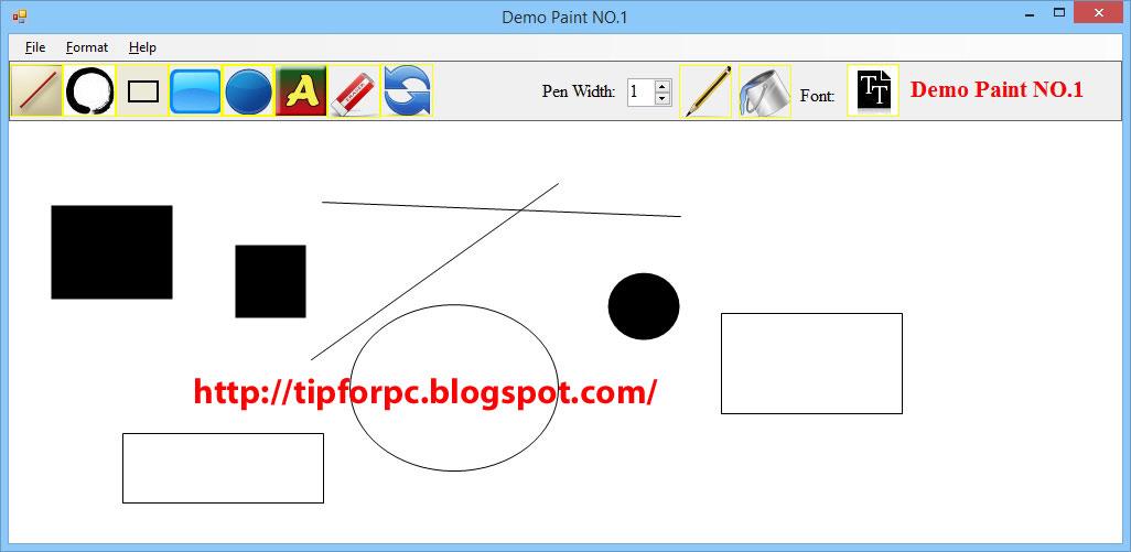 Source C# Mã nguồn Code Phần Mềm vẽ Paint + báo cáo