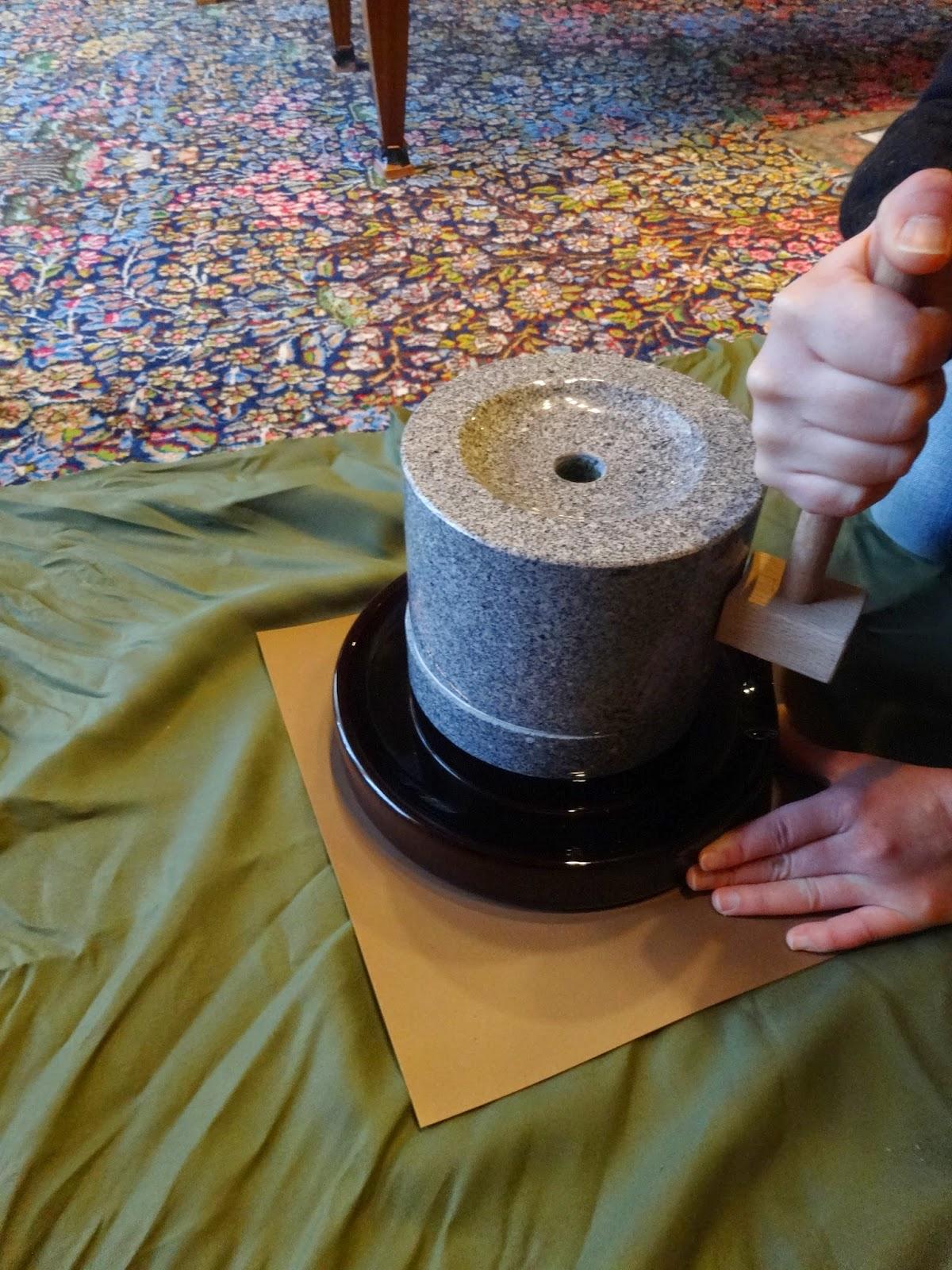 matcha selber mahlen japan ein sch nes land. Black Bedroom Furniture Sets. Home Design Ideas