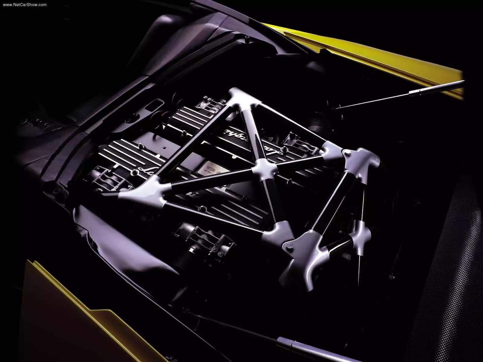 Hình ảnh siêu xe Lamborghini Murcielago Barchetta Concept 2002 & nội ngoại thất