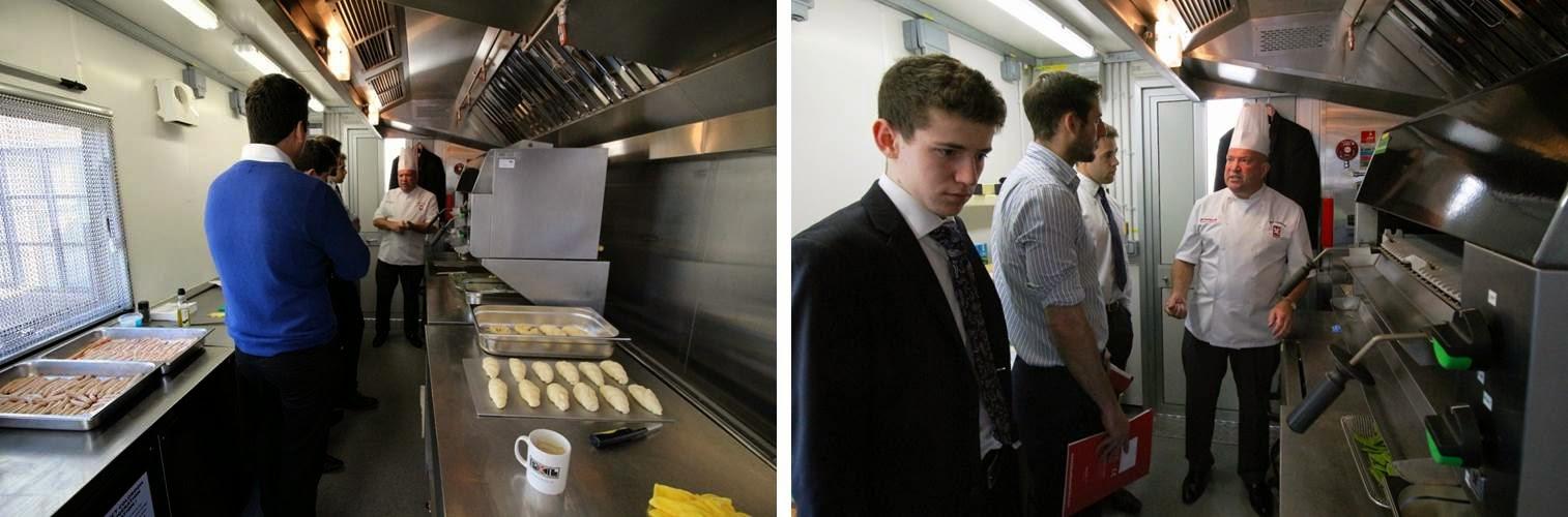 PKL Training Day | Chefs introducing equipment
